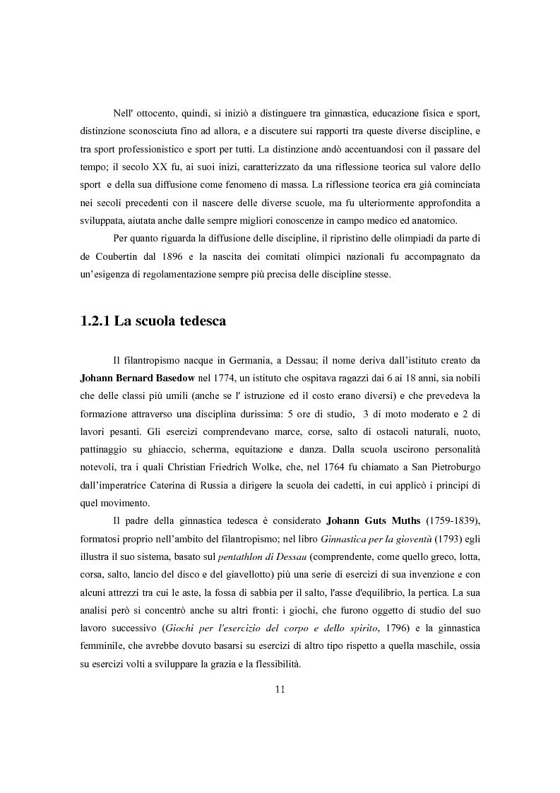 Anteprima della tesi: Ginnastica a tempo di bit: analisi comparata delle cronache sportive italiane e russe in Rete, Pagina 8