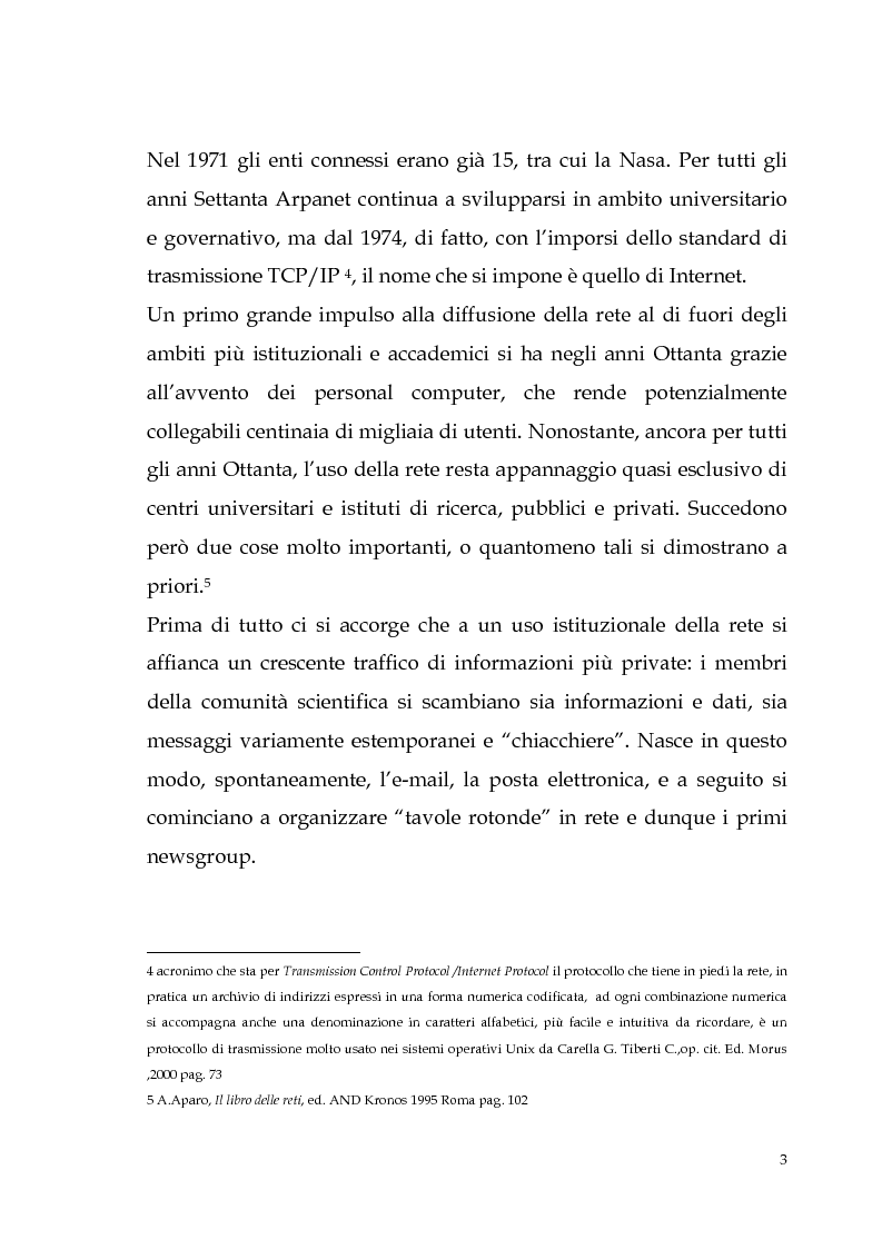 Anteprima della tesi: Spamming: profili tecnici e giuridici, Pagina 3
