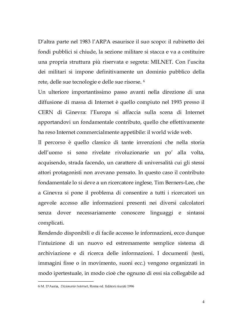 Anteprima della tesi: Spamming: profili tecnici e giuridici, Pagina 4
