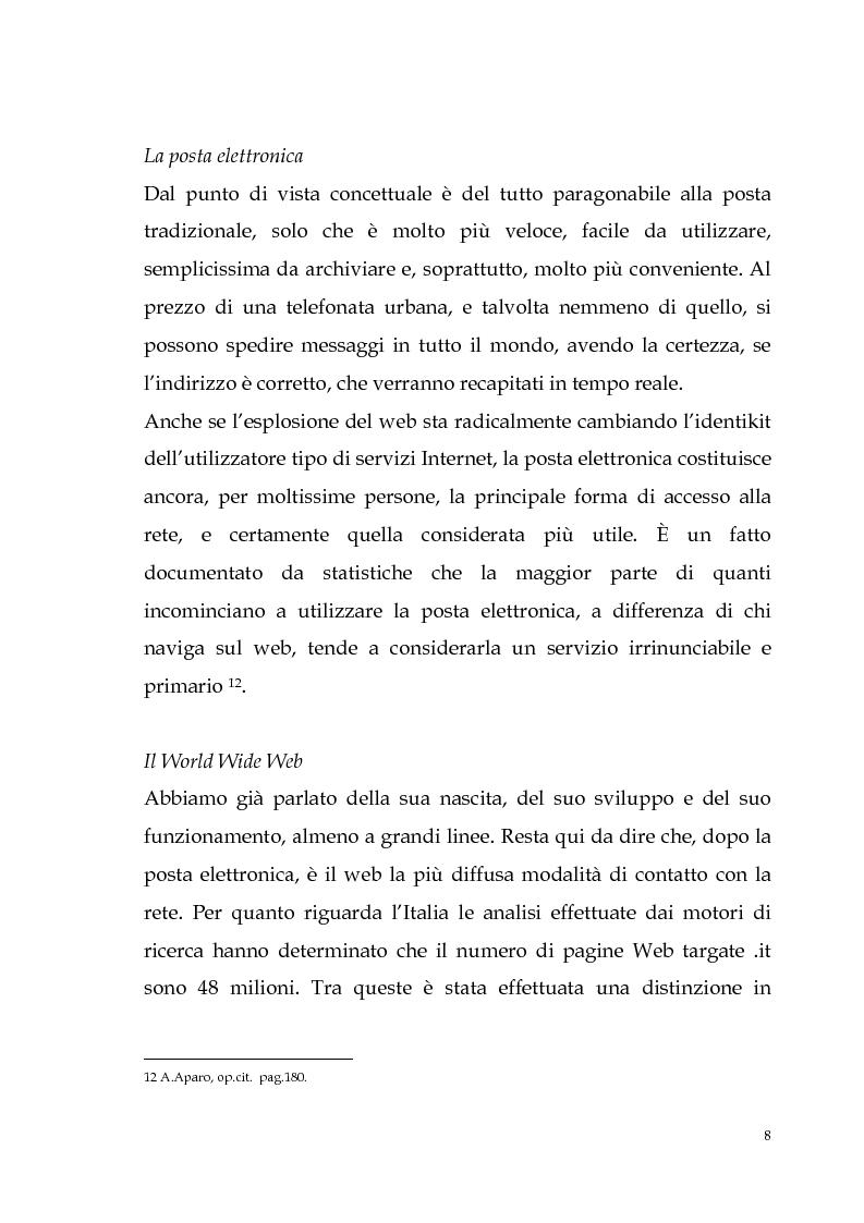 Anteprima della tesi: Spamming: profili tecnici e giuridici, Pagina 8
