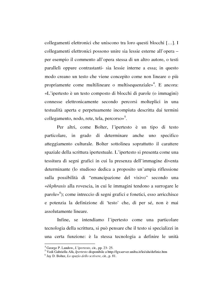 Anteprima della tesi: Italo Calvino e l'iper-romanzo, Pagina 6