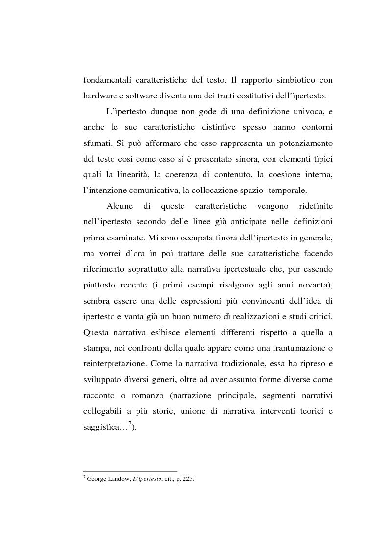 Anteprima della tesi: Italo Calvino e l'iper-romanzo, Pagina 7