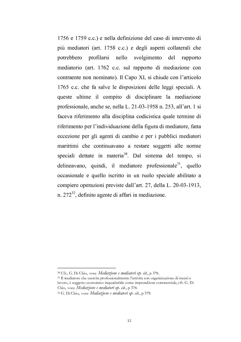 Anteprima della tesi: I contratti di mediazione immobiliare e la tutela del consumatore, Pagina 12