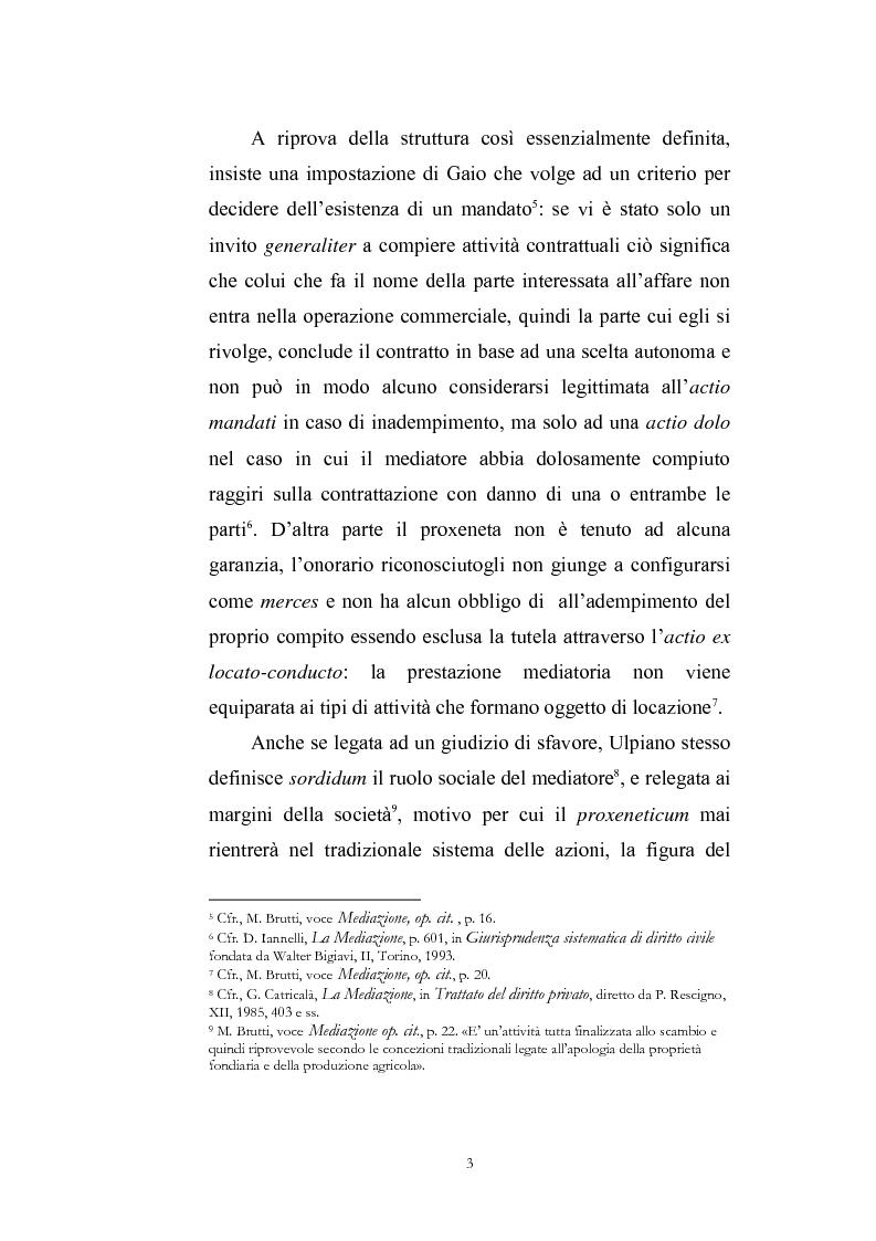 Anteprima della tesi: I contratti di mediazione immobiliare e la tutela del consumatore, Pagina 3