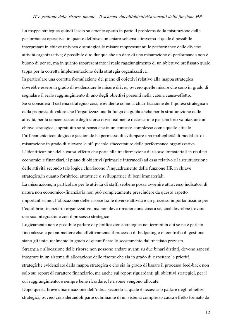 Anteprima della tesi: IT e gestione delle risorse umane, Pagina 13