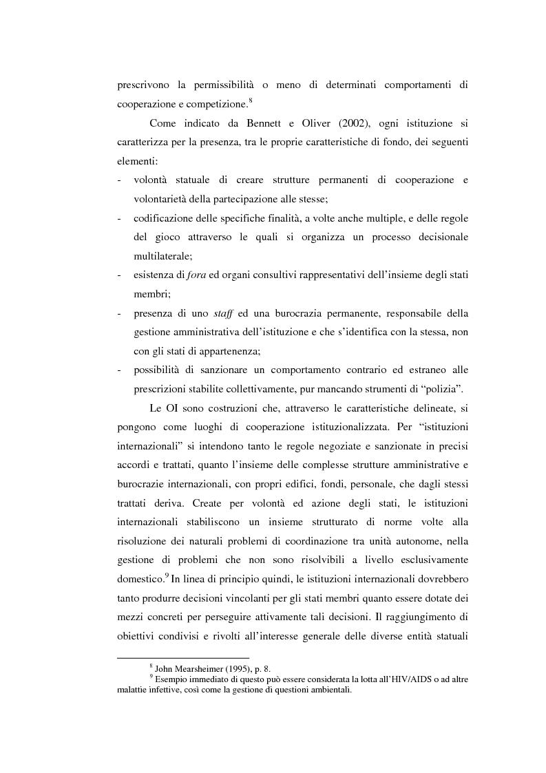 Anteprima della tesi: Il potere strutturale nell'ambito finanziario internazionale: gli Stati Uniti, il Fondo Monetario Internazionale ed i programmi di sostegno alla Russia, 1992-1999, Pagina 8