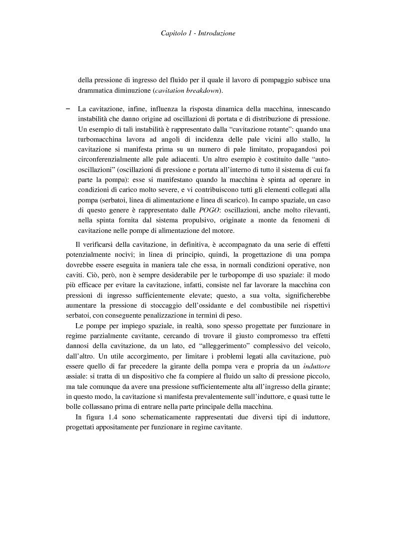 Anteprima della tesi: Progetto costruttivo definitivo di un impianto di prova in similitudine di turbopompe cavitanti, Pagina 5