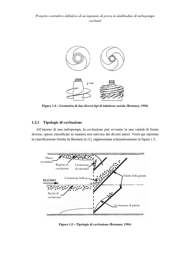 Anteprima della tesi: Progetto costruttivo definitivo di un impianto di prova in similitudine di turbopompe cavitanti, Pagina 6