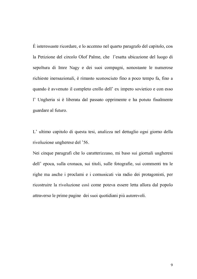 Anteprima della tesi: Storia del giornalismo ungherese fino alla rivoluzione del '56, Pagina 6