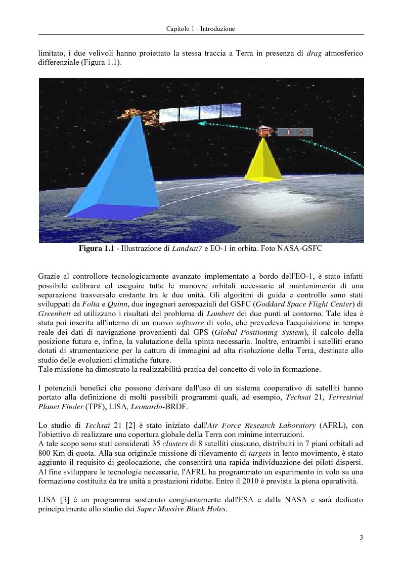 Anteprima della tesi: Dinamica e controllo di satelliti in formazione, Pagina 4