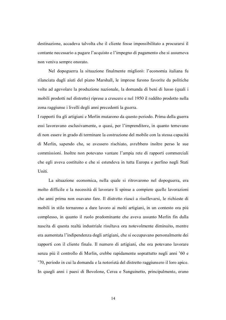 Anteprima della tesi: Il distretto del mobile della bassa veronese, Pagina 10