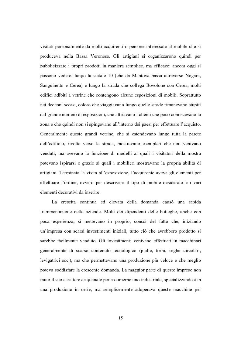 Anteprima della tesi: Il distretto del mobile della bassa veronese, Pagina 11