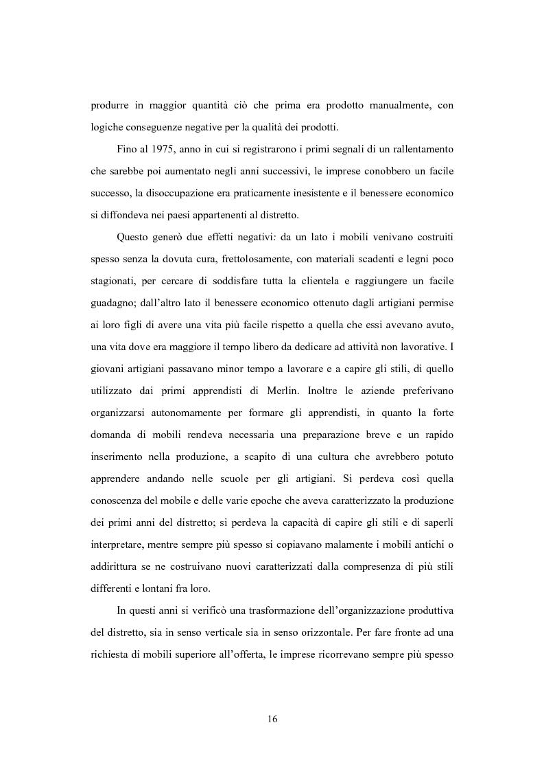 Anteprima della tesi: Il distretto del mobile della bassa veronese, Pagina 12