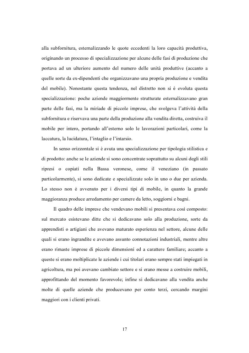 Anteprima della tesi: Il distretto del mobile della bassa veronese, Pagina 13