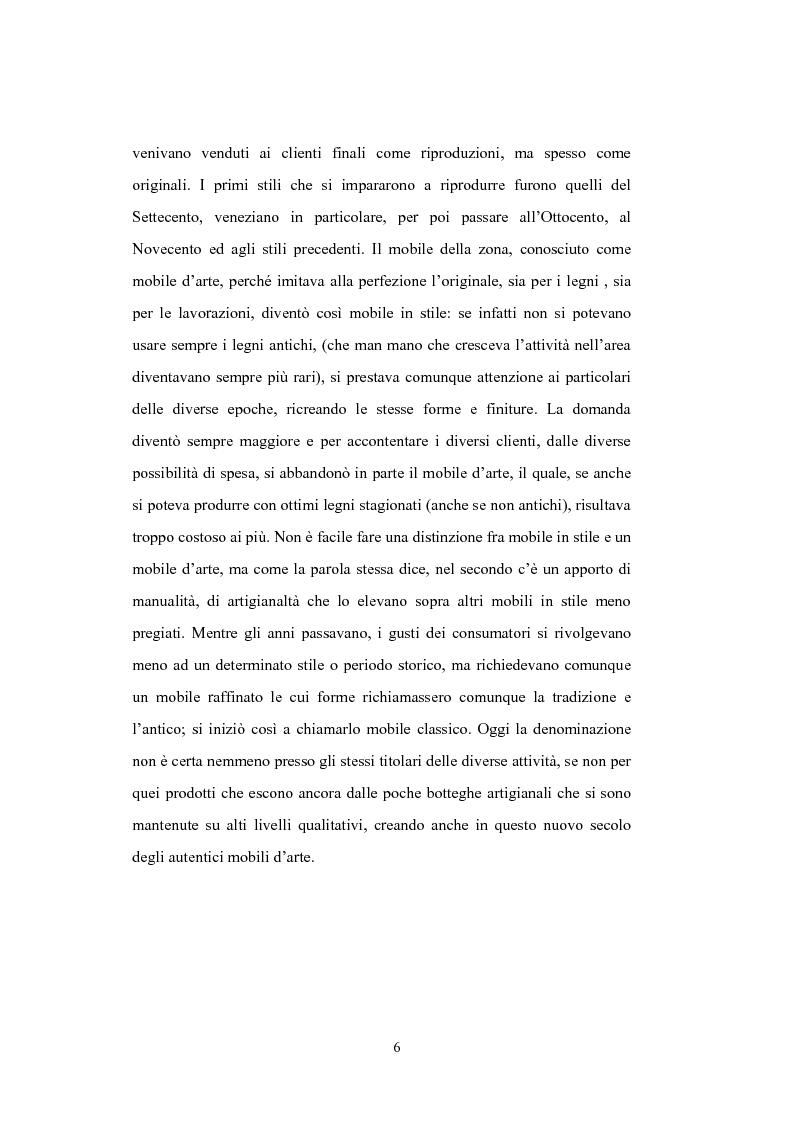 Anteprima della tesi: Il distretto del mobile della bassa veronese, Pagina 2