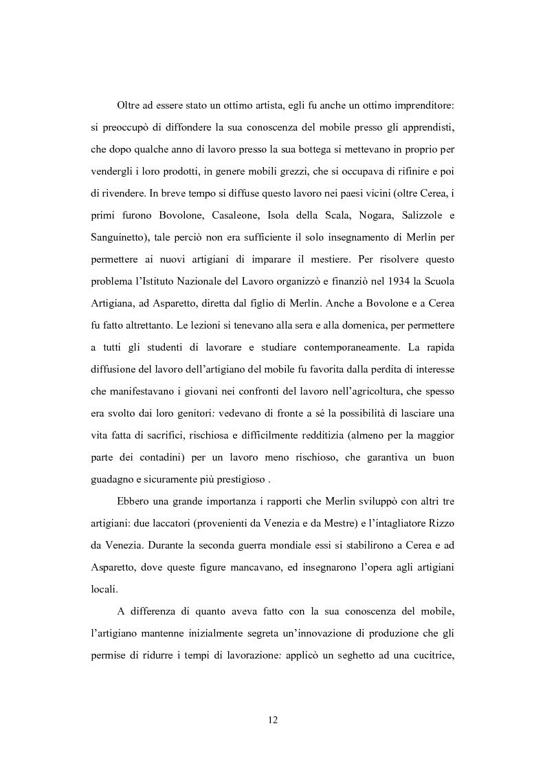Anteprima della tesi: Il distretto del mobile della bassa veronese, Pagina 8