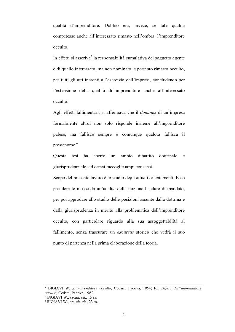 Anteprima della tesi: L'imprenditore occulto nella giurisprudenza, Pagina 3