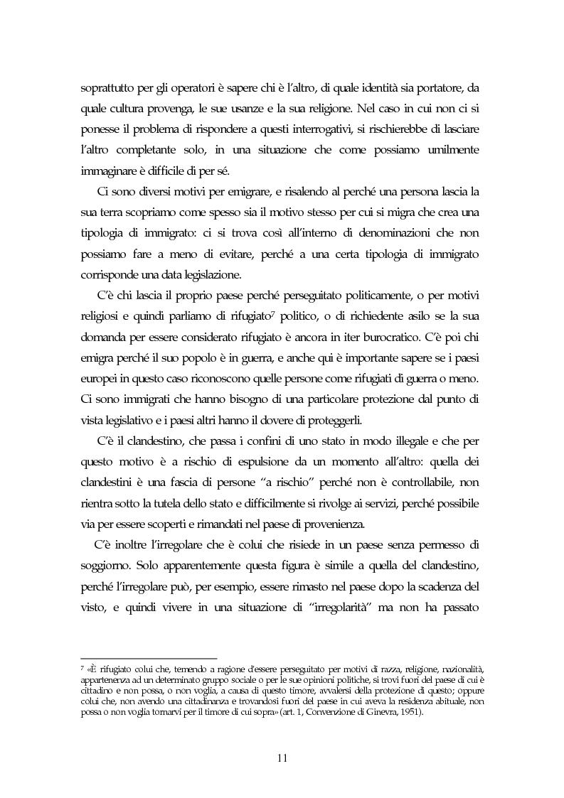 Anteprima della tesi: Piccoli immigrati in Europa. Confronto tra le strategie di inserimento scolastico, Pagina 11
