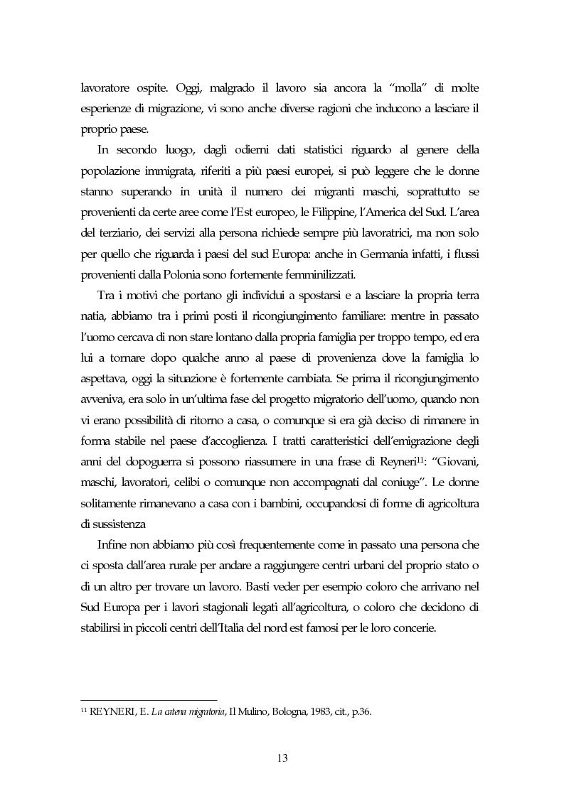 Anteprima della tesi: Piccoli immigrati in Europa. Confronto tra le strategie di inserimento scolastico, Pagina 13