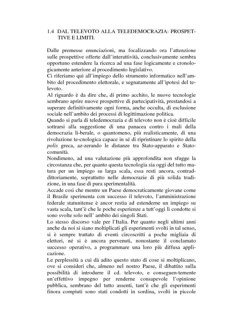 Anteprima della tesi: L'informatizzazione dell'attività amministrativa, Pagina 8