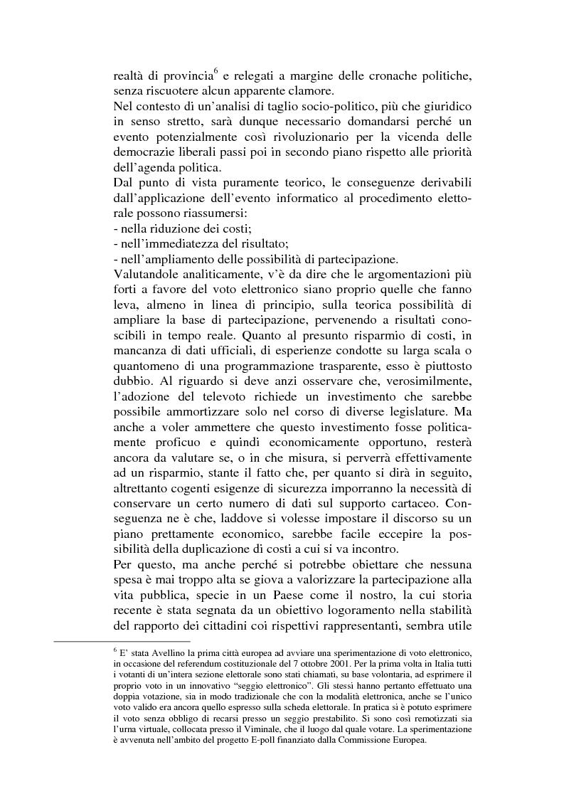 Anteprima della tesi: L'informatizzazione dell'attività amministrativa, Pagina 9