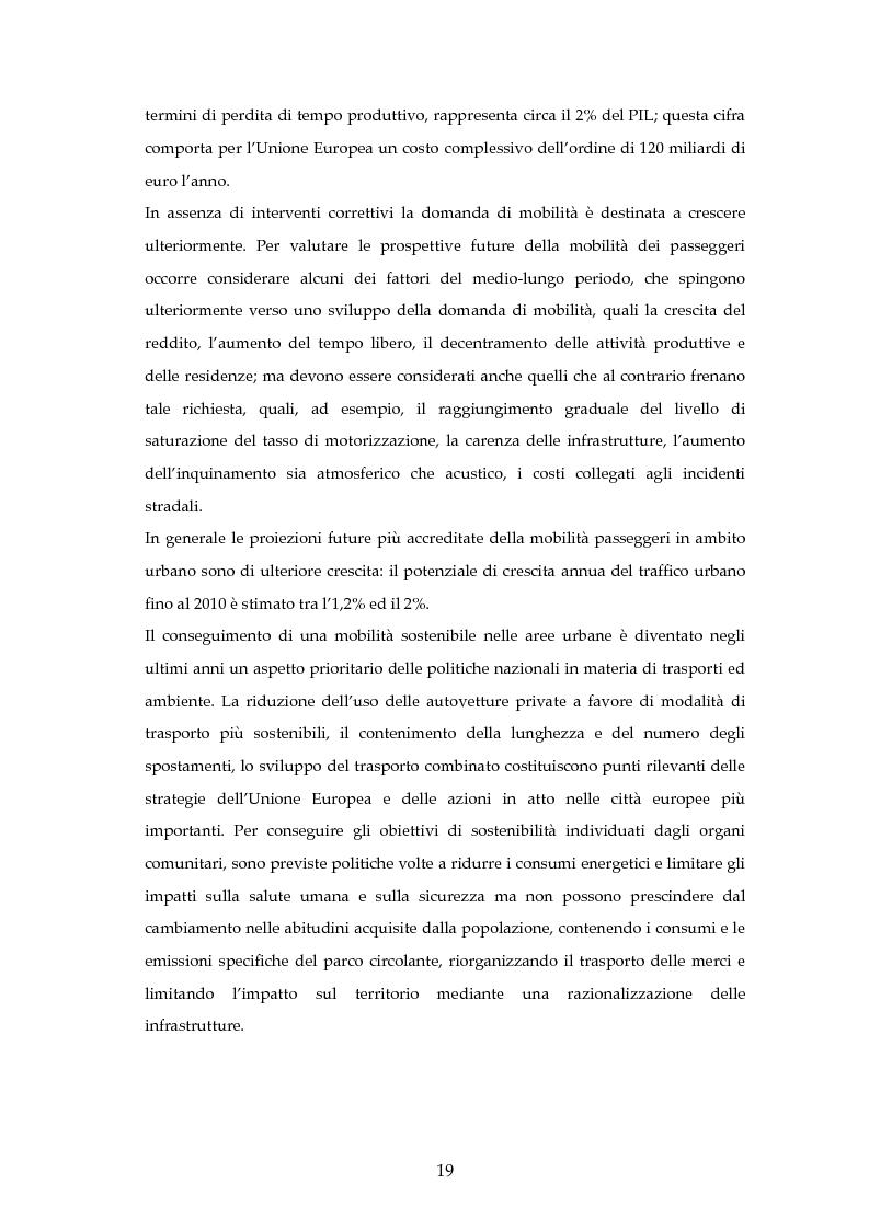 Anteprima della tesi: Analisi mediante LCA e valutazione economica dei trasporti nella città di Padova, Pagina 12