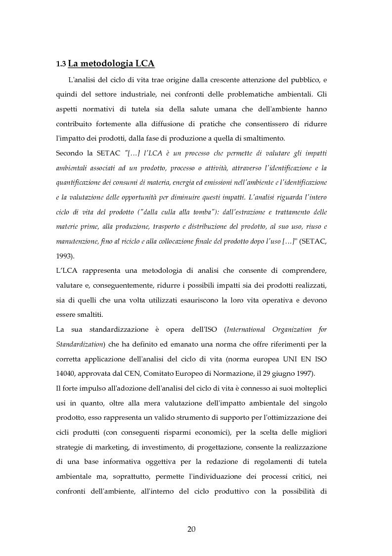 Anteprima della tesi: Analisi mediante LCA e valutazione economica dei trasporti nella città di Padova, Pagina 13