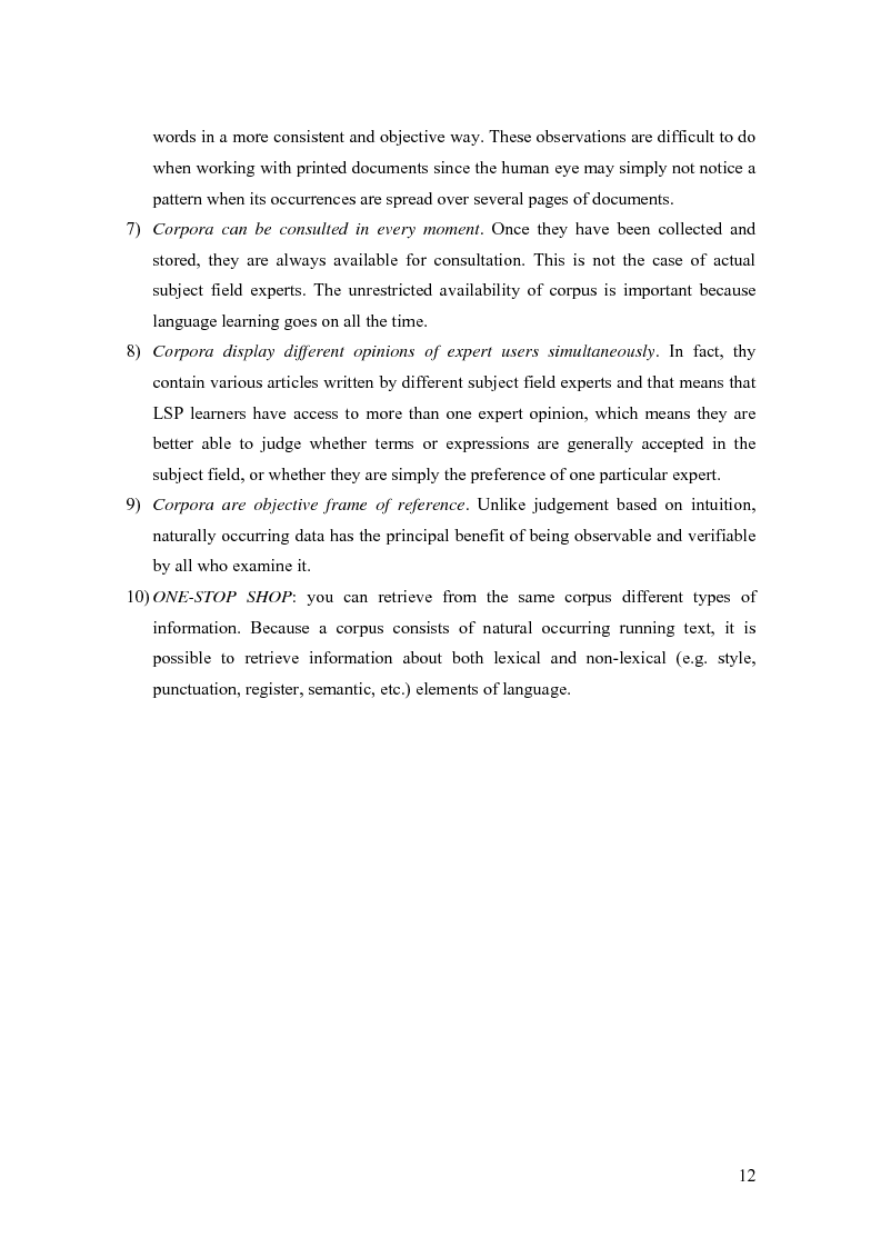 Anteprima della tesi: Lexical features of political discourse: a corpus-based analysis of speeches about the European Union, Pagina 13