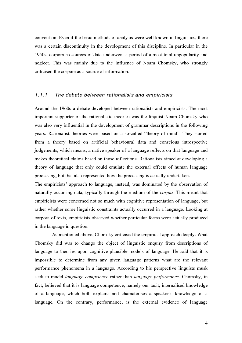 Anteprima della tesi: Lexical features of political discourse: a corpus-based analysis of speeches about the European Union, Pagina 5