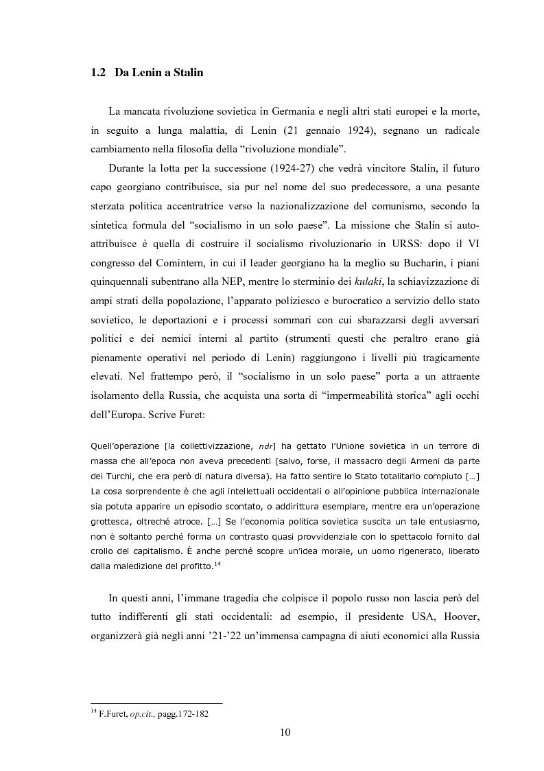 Anteprima della tesi: Wilhelm Münzenberg (1889-1940). Comunicazione, propaganda, disinformazione: la storia del ''Murdoch di Stalin'', Pagina 7