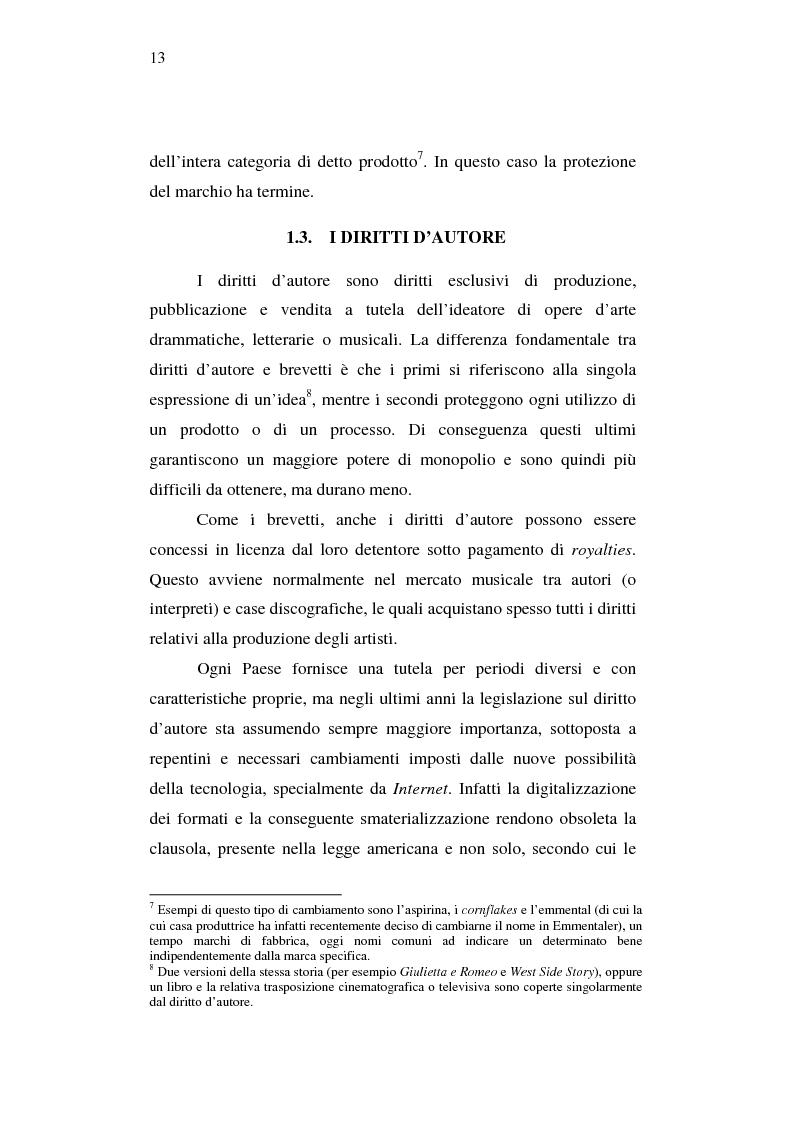Anteprima della tesi: Effetti della pirateria nel mercato discografico, Pagina 10