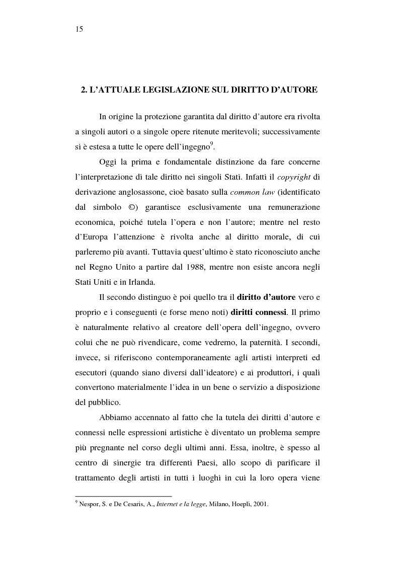 Anteprima della tesi: Effetti della pirateria nel mercato discografico, Pagina 12