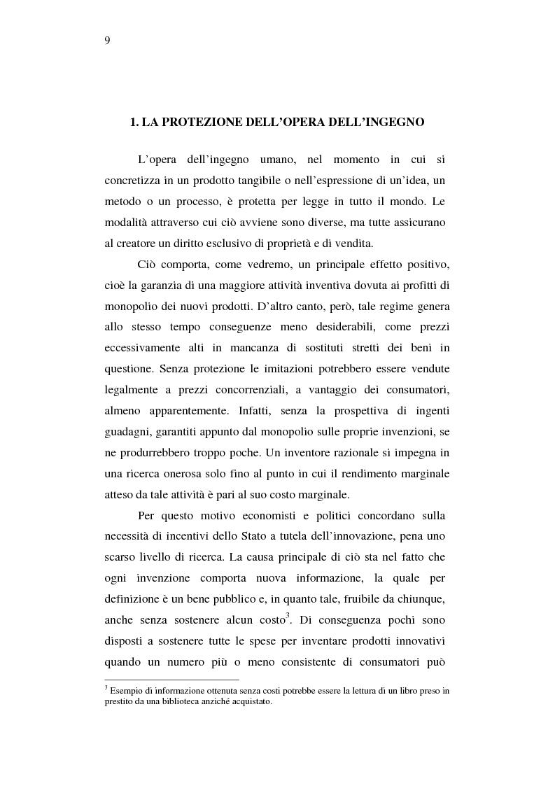 Anteprima della tesi: Effetti della pirateria nel mercato discografico, Pagina 6