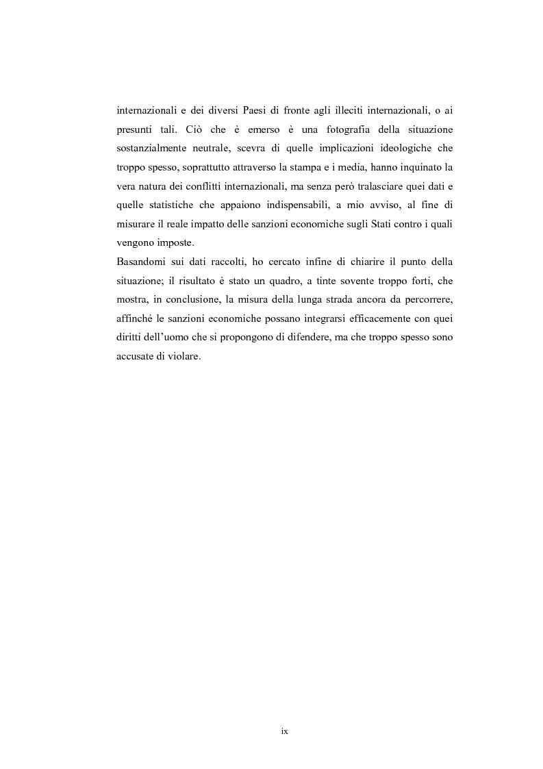 Anteprima della tesi: Sanzioni economiche e tutela dei diritti dell'uomo, Pagina 4