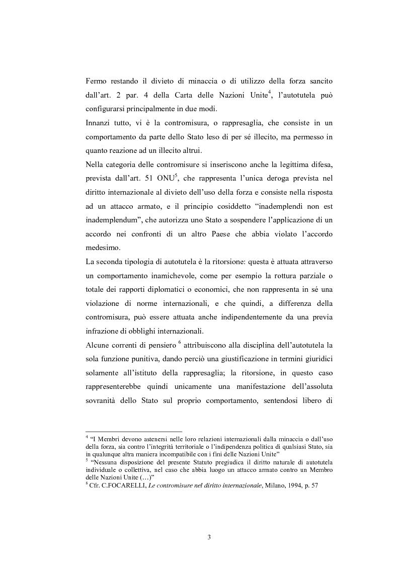 Anteprima della tesi: Sanzioni economiche e tutela dei diritti dell'uomo, Pagina 7