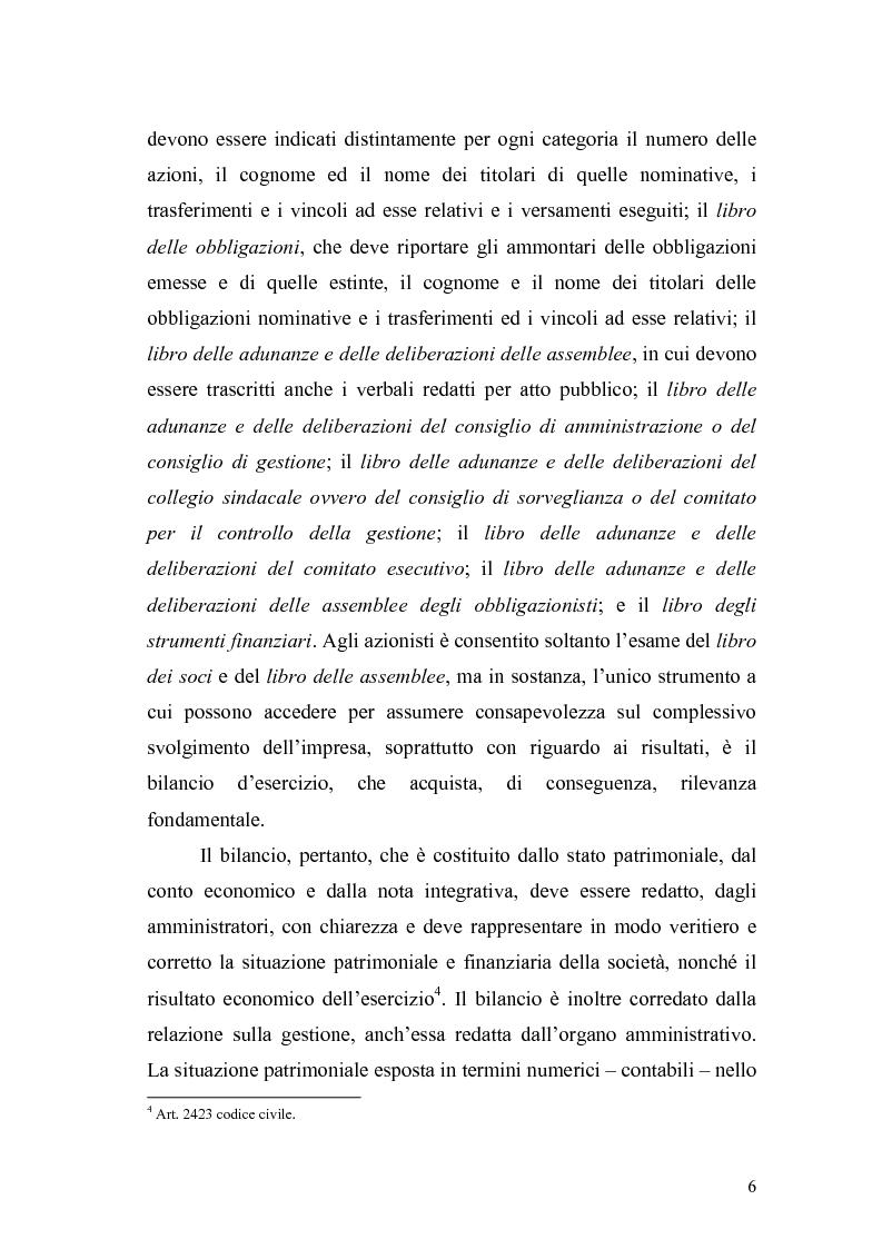 Anteprima della tesi: Il bilancio d'esercizio alla luce delle modifiche previste nella legge di riforma del diritto societario, Pagina 3