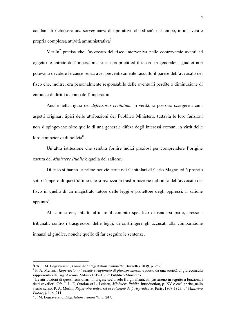 Anteprima della tesi: Il Pubblico Ministero nel diritto francese dell'Ottocento (1808-1882), Pagina 10