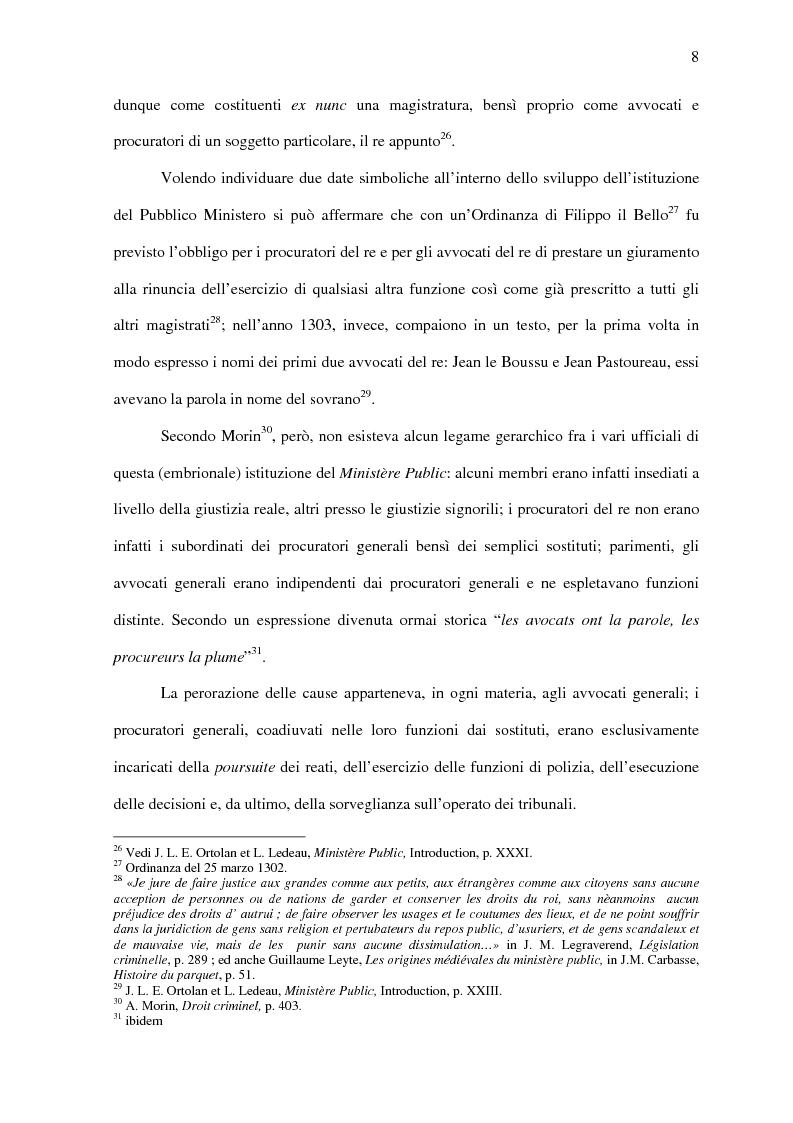 Anteprima della tesi: Il Pubblico Ministero nel diritto francese dell'Ottocento (1808-1882), Pagina 15