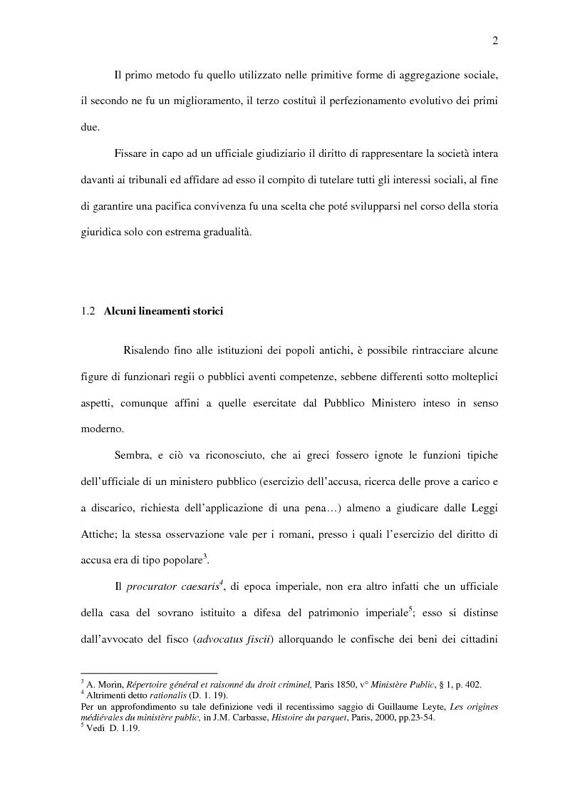 Anteprima della tesi: Il Pubblico Ministero nel diritto francese dell'Ottocento (1808-1882), Pagina 9
