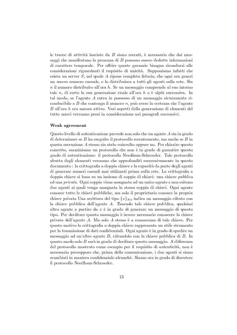 Anteprima della tesi: Verifica di protocolli di sicurezza crittografici, Pagina 10