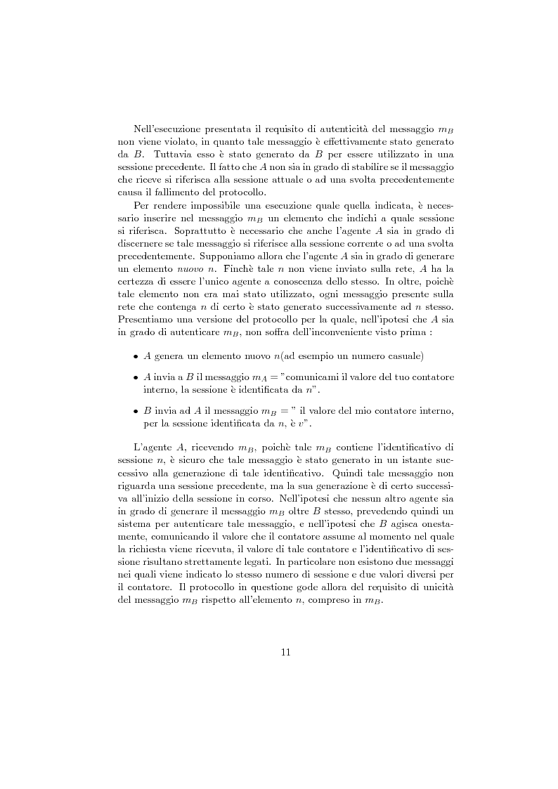 Anteprima della tesi: Verifica di protocolli di sicurezza crittografici, Pagina 8