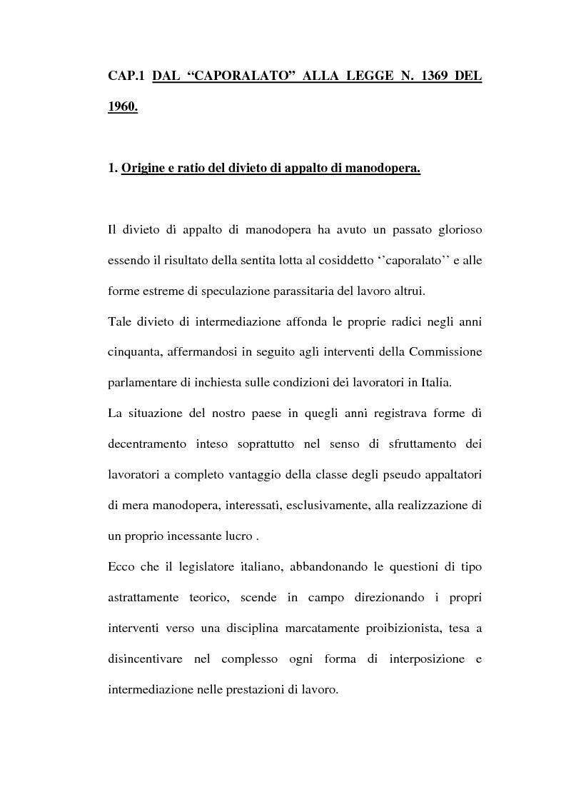 Anteprima della tesi: Lavoro interinale, Pagina 6