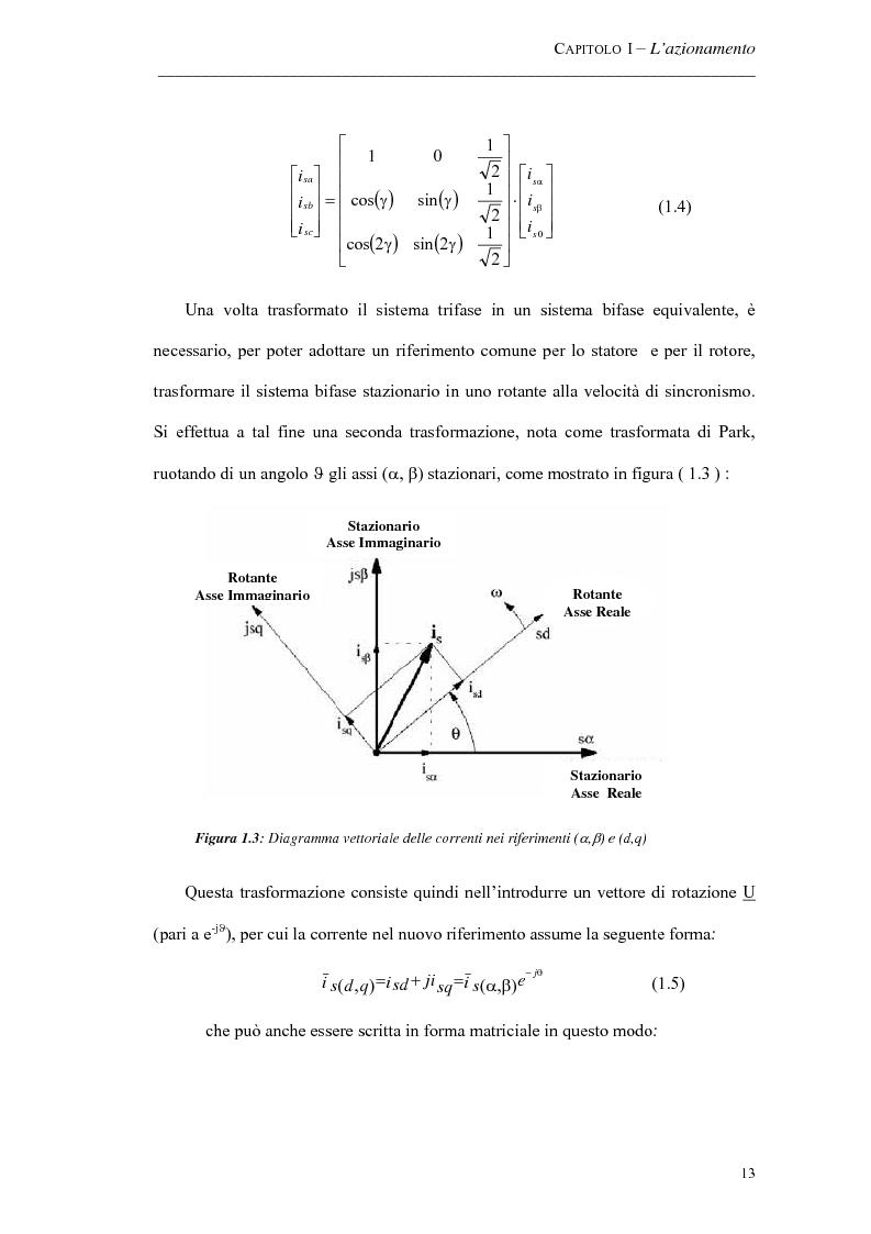 Anteprima della tesi: Progetto ed implementazione di un algoritmo per il controllo di velocità con indebolimento di campo in un azionamento brushless privo di encoder, Pagina 10