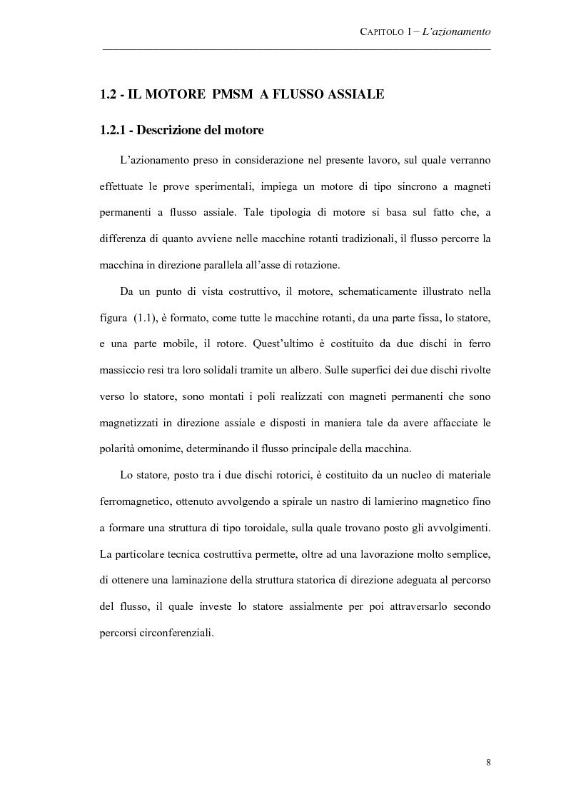 Anteprima della tesi: Progetto ed implementazione di un algoritmo per il controllo di velocità con indebolimento di campo in un azionamento brushless privo di encoder, Pagina 5