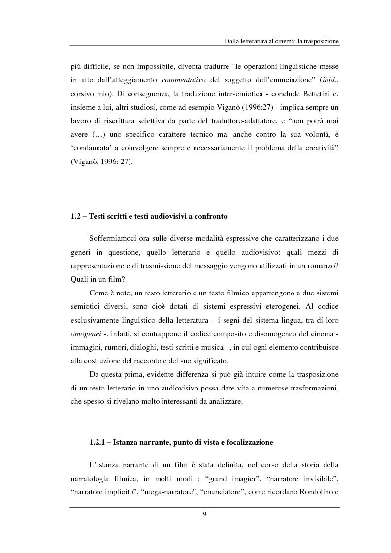 """Anteprima della tesi: """"Beloved"""" di Toni Morrison: dalla pagina allo schermo, Pagina 9"""