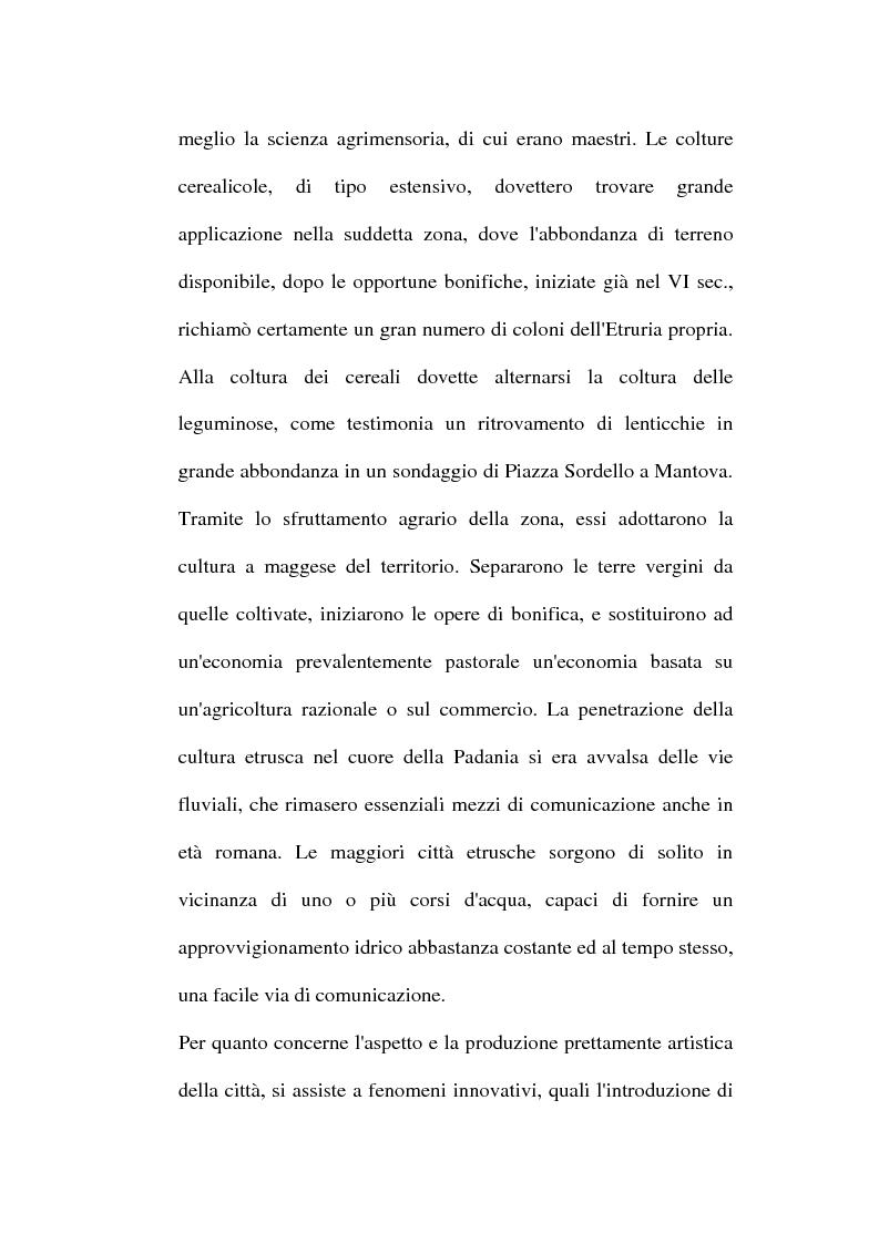 Anteprima della tesi: Topografia ed urbanistica della città di Mantova, Pagina 13