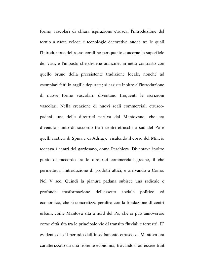 Anteprima della tesi: Topografia ed urbanistica della città di Mantova, Pagina 14