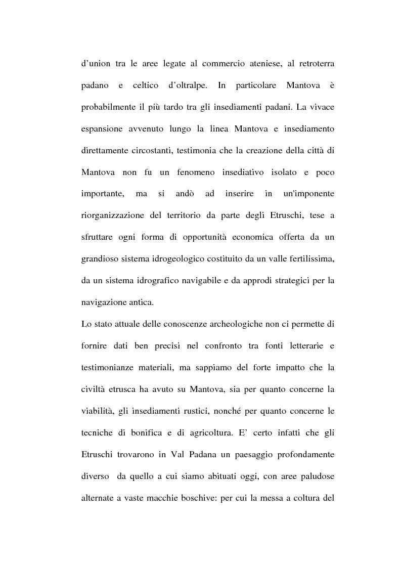 Anteprima della tesi: Topografia ed urbanistica della città di Mantova, Pagina 15