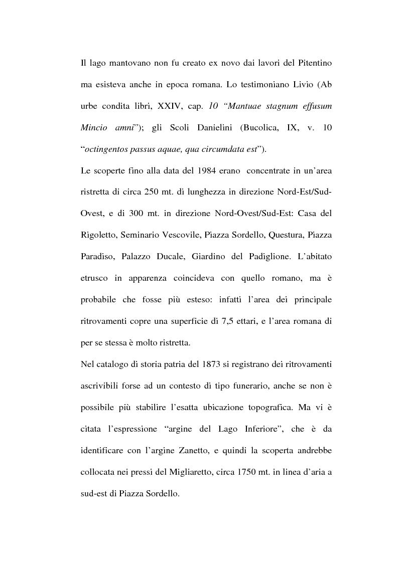 Anteprima della tesi: Topografia ed urbanistica della città di Mantova, Pagina 8