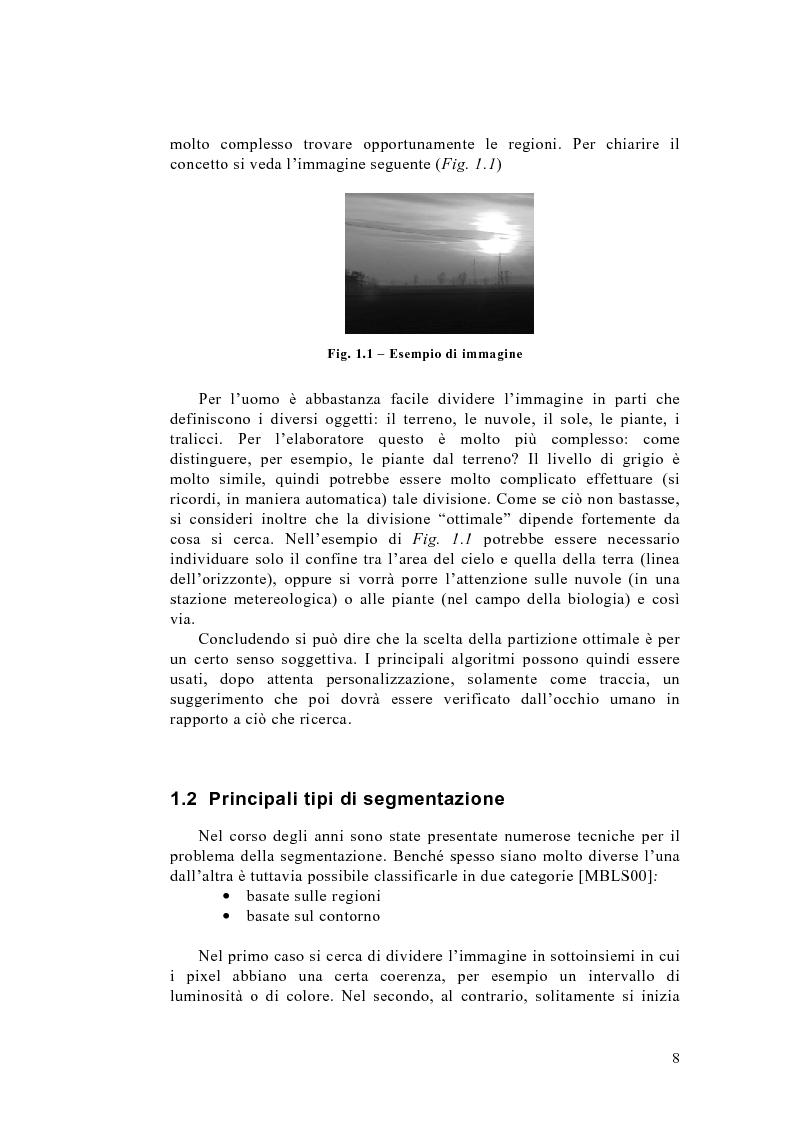 Anteprima della tesi: Algoritmo del taglio normalizzato per la segmentazione di immagini, Pagina 4
